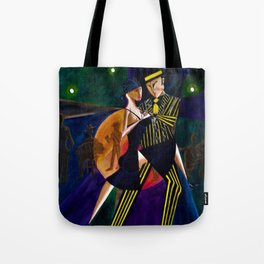 TANGO...Cubism/Futurism...From the Original Painting...New Art. Tote Bag