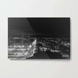 Downtown Anchorage Metal Print