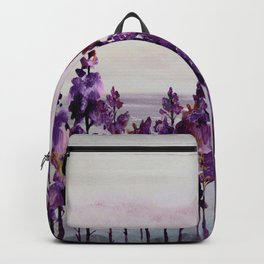 Purple Trees Backpack
