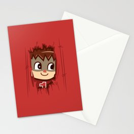 Heeeeere's..... the Villager! Stationery Cards