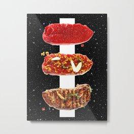 Meat Metal Print