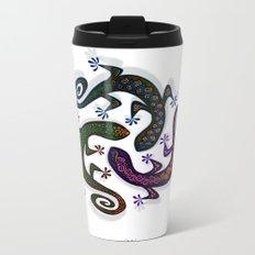 GECKO CIRCLE Metal Travel Mug