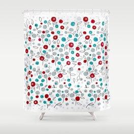 winter pattern1 Shower Curtain