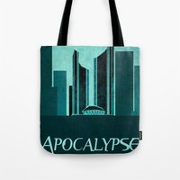 resident evil Tote Bags featuring Resident Evil Apocalypse by JackEmmett
