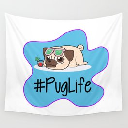 #PugLife Wall Tapestry