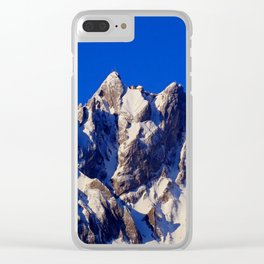 Just go higher Clear iPhone Case