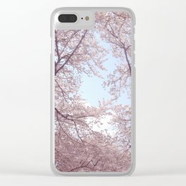 Spring dreaming Clear iPhone Case