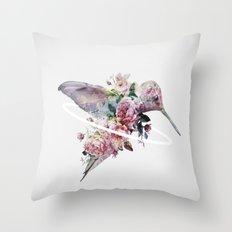 Kolibri Throw Pillow