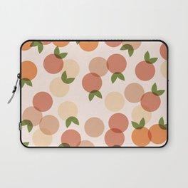 Peach Pattern Laptop Sleeve