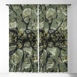Waifs - Cracking through W of Alphabet collection Blackout Curtain
