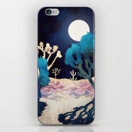 Desert Lake Moonlight iPhone Skin