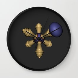 Metamole Wall Clock