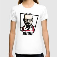 cook T-shirts featuring Heisenberg Cook by Maioriz Home