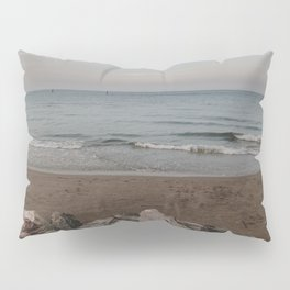 Waves and Beaches | Nature and Landscape Photography Pillow Sham
