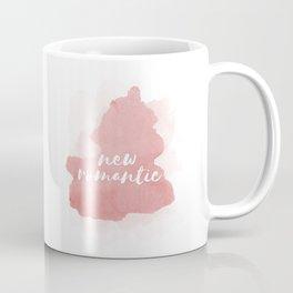 New Romantic Watercolor Brushstoke Coffee Mug