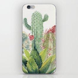 Cactus Watercolor iPhone Skin