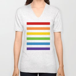 Somewhere Under the Rainbow Unisex V-Neck