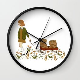 waffle wagon Wall Clock