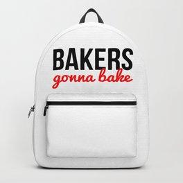 Bakers Gonna Bake Backpack