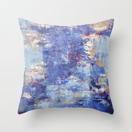 Cloudy Reflections Throw Pillow