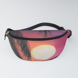 Los Arcos sunset Fanny Pack