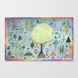 Forest Sampler Canvas Print
