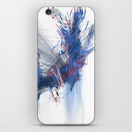 Unwelcome Gaze – Facebook 16 iPhone Skin