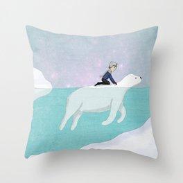 Safe Passage Throw Pillow