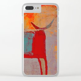 Toro Rojo Clear iPhone Case