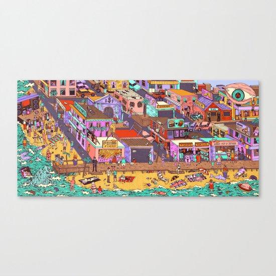 Fried n' Cheesy Canvas Print