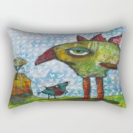 Burg, Meef & The Gum Gum Tree Rectangular Pillow