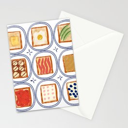 Toast for you Stationery Cards