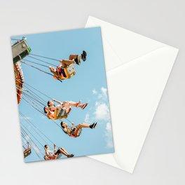 Wonderland swing Stationery Cards