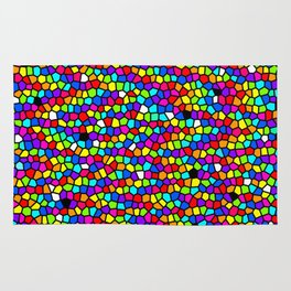 Drops Of Rainbow Rug
