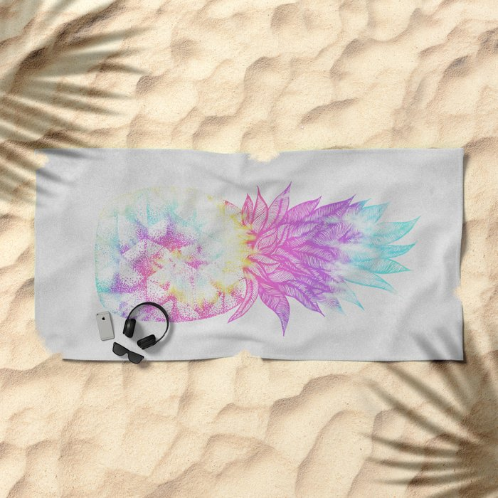 Pineapple Paradise Beach Towel