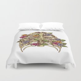 Rib Bloom Duvet Cover