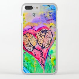 Sunshine Daydreams Clear iPhone Case