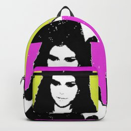 Ms. Gomez pop art print Backpack