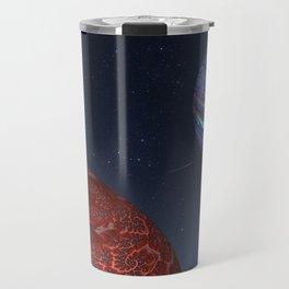 Earth From Mars Travel Mug