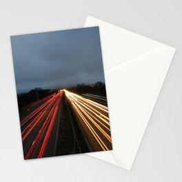 Light Trails (1) Stationery Cards