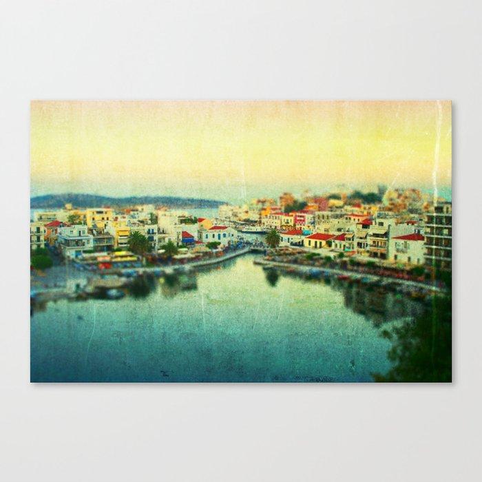 Agios Nikolaos Canvas Print
