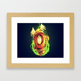 Greek God Kenny Framed Art Print