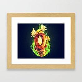 Greek God Kenny Framed Art Print