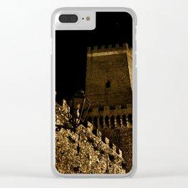 Castello di Venere Clear iPhone Case