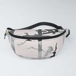 Home on Cream Fanny Pack