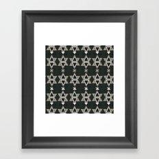 Art Deco Great Gatsby Pattern Framed Art Print