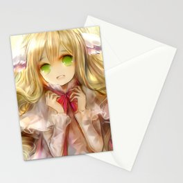 Mavis Vermillion Stationery Cards