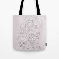 flowers, with love Tote Bag