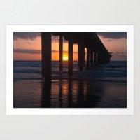 Sunset Captured Art Print