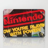 nintendo iPad Cases featuring Nintendo Power by haohunter